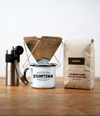 Stumptown Merch & Brew Kits