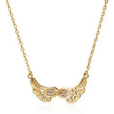 Flight CZ Necklace http://w-jewelries.com/necklace/flight-cz-necklace-w-jewelries.html