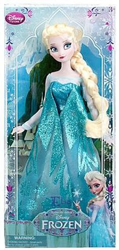 Elsa / Frozen - Eiskönigin Puppe - original Disney: Amazon.de: Spielzeug