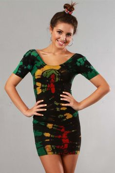 RASTA REGGAE DRESS
