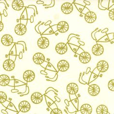 Lucys Crab Shack by Sweetwater for Moda - Cruiser in Cream Green - 1/2 Yard. $4.50, via Etsy.