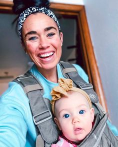"""This mom works full time from home, and has a baby, 2 year old and 5 year old! 💪 """" I appreciate this carrier so much!"""" -Jess Ergonomic Baby Carrier, 35 Pounds, Having A Baby, Dads, Mom, Fathers, Mothers"""