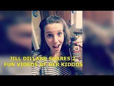 JILL DUGGAR Shares video of NightOshine event : So cute her boys are! Also Israel is seen playng with Derick Dillard Car racing in the kitchen & Jill Duggar .