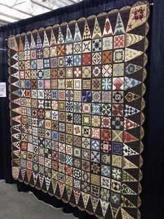 """""""My Time with Jane"""" by Miriam Bruening. Displayed at the Madison Quilt Expo, September 2012. Photographed by the CraftProwler."""