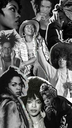 My favorite women. The best singer Ms Lauryn Hill Black Love Art, Beautiful Black Girl, Black Girl Art, Black Girl Magic, Black Girls, Black Aesthetic Wallpaper, Black Girl Aesthetic, Ms Lauryn Hill, Arte Do Hip Hop