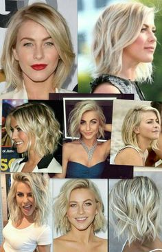 10 Best Ideas About Julianne Hough Short Hairstyles To get the best look of you and your hair at any Bob Hairstyles For Thick, Curled Hairstyles, Shirt Bob Hairstyles, Bob Hair Updo, Chin Length Hairstyles, Belliage Hair, Curly Hair, Girl Hairstyles, Braided Hairstyles