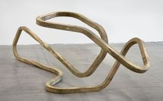 Richard Deacon . brass, 2012