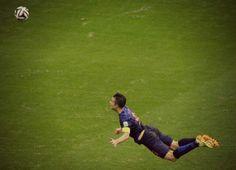 Van Persie primer gol vs España
