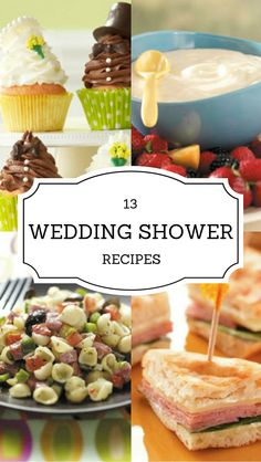 51 fabulous wedding shower recipes