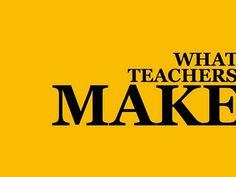"Taylor Mali on ""What Teacher's Make"" :)"