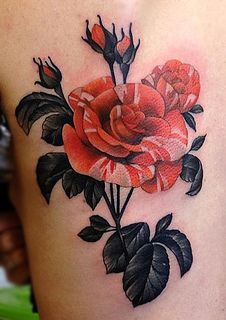 Amanda Grace Leadman | Floral Tattoo
