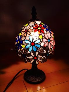 Decor, Lamp, Stained Glass Lamps, Mosaic, Stain, Home Decor, Chandelier, Glass Art
