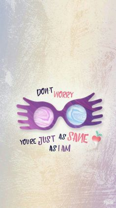 I always love Luna! Yes I'm a HP nerd!