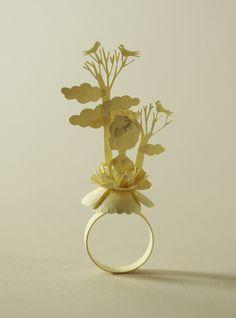 paper ring by Elsita