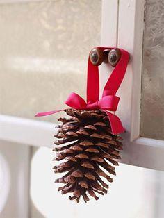 Karácsonyi díszek természet adta anyagokból