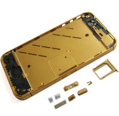 Our latest collection #iPhone4s Midframe Gold available at Discounted price.
