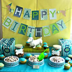 Puppy-Themed Birthday Party - Project Nursery