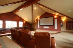 Home Media Centers for Smaller Rooms #hometheatre #homecinema