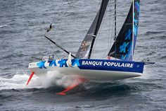 Photos 360° : Banque Populaire VIII, visite d'un bateau de légende