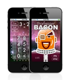 Professor Bacon is available on AppStore