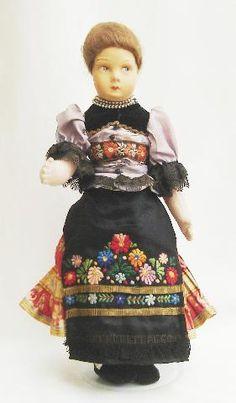 Hungary,, Folks Doll