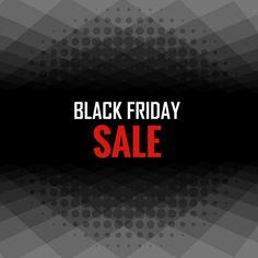 Черная пятница Продажа плакат Бесплатные векторы