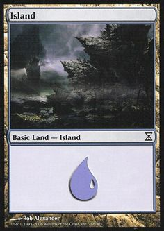 Magic the Gathering: Island (286) (Foil) - Time Spiral ** Want additional info? Click on the image.