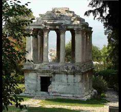 Gümüşkesen Funerary momument -Milas-Mugla-Turkiye