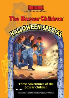 What could be a better time for reading spooky Boxcar Children Mysteries than #Halloween?