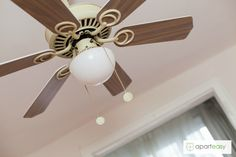 Beautiful lamp-fan from our beautiful apartment Gracia Neighborhood, Barcelona. Serviced Apartments, Rental Apartments, Interior Design Pictures, Days And Months, Like A Local, Ceiling Fan, The Neighbourhood, Barcelona, Interior Decorating