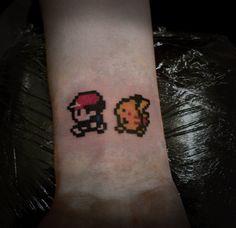 8 Bit Pokemon Tattoo by *t-o-n-e on deviantART