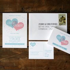 Two Become One Wedding Invitation