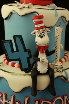 Cat in the Hat | by Andrea's SweetCakes