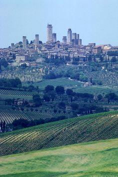 San Gimignano, Italy  - Where I spent most of my honeymoon