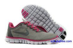 on sale fb6ad 96701 Damen Nike Free 3.0 V2 Anti -Pelz-Schuhe Grau Rose