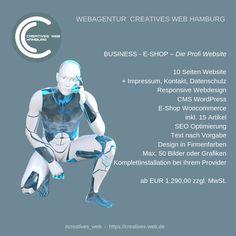 Die Profi E_SHOP Website Web Design, Shops, Business, Creative, Movies, Movie Posters, Hamburg, Graphics, Design Web