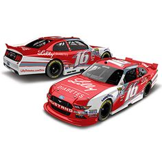 Roush Automotive Collection Store - Ryan Reed 2016 Lilly Diabetes 1:24 Die-cast…