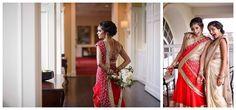 red indian wedding wedding, red and gold wedding, ballantyne hotel wedding #carolinaeventdesign