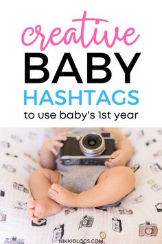 Find 70 creative baby hashtags to use on Instagram! This guide to popular hashtags for mom and newborn babies features cute ideas for tagging your latest IG post. Click here to get the best hashtags for your latest baby pic! Baby Needs, Baby Love, New Born Baby Names, Help Baby Sleep, Baby Schedule, Baby Smiles, Baby Must Haves, A Day In Life, Everything Baby
