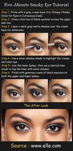 Five-Minute Smoky Eye Tutorial | Beauty Tutorials