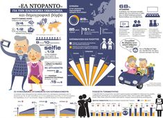 Ηλικιωμένοι   Greek Infographics World Languages, Greek, Comics, Infographics, Infographic, Cartoons, Comic, Info Graphics, Greece