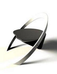 AMAZING DESIGN CHAIR | Amazing black and silver chair | www.bocadolobo.com/ #diningroomideas #chairideas