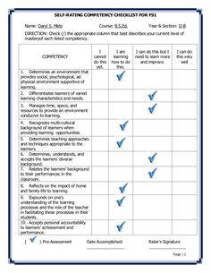 Preschool Portfolio Checklist From Kid At Heart On