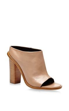 Leona Nappa Leather High Heeled Mules by Tibi Now Available on Moda Operandi