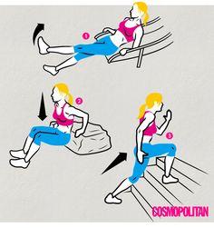 운동기구없이 하는 근력운동 | 코스모폴리탄 (Cosmopolitan Korea)
