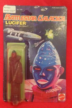 Battlestar Galactica 1978 very rare Lucifer figure http://www.ebay.ca/usr/collectiblesbycandb