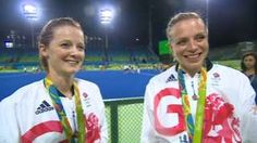 Image caption                                      Helen and Kate Richardson-Walsh have nearly 35 years' experience in hockey's top flight between them                                Team GB captain Kate Richardson-Walsh and wife Helen have become the first same-sex married couple to win an Olympic gold in the same final.  The win over the Dutch means Kate, 36, and her spouse, 34, are also thought to be the first married couple sin