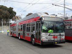 SF Muni New Flyer Trolleybus