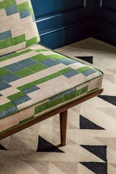 British textile brand Christopher Farr celebrates Bauhaus pioneer Anni Albers with its latest range of rugs and fabric designs. Textile Patterns, Textiles, Anni Albers, Bauhaus Design, Mid Century Modern Living Room, Fabric Rug, Walter Gropius, Small Furniture, Upholstered Furniture