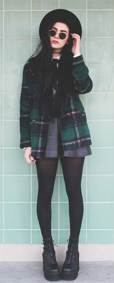 Winter Casual Plaids & Checks Coats
